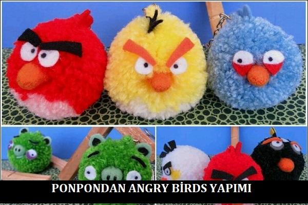 Ponpondan Angry Birds Yapımı
