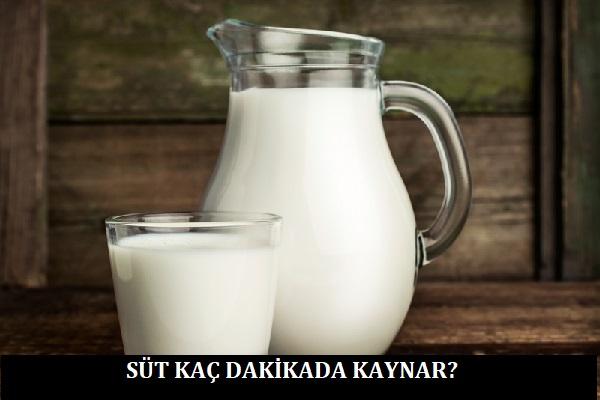 Süt Kaç Dakikada Kaynar?