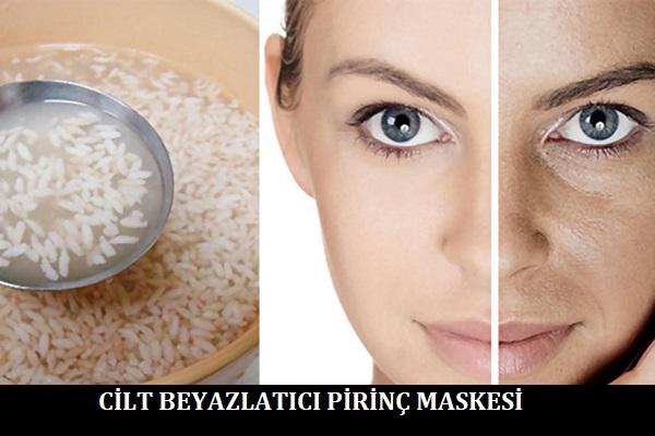 Cilt Beyazlatıcı Pirinç Maskesi