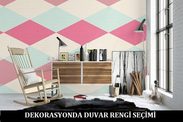 Dekorasyonda Duvar Rengi Seçimi