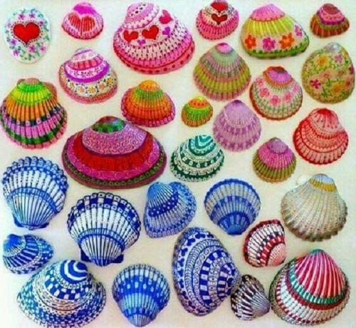 Deniz Kabuğu Nasıl Boyanır Pratikhanem