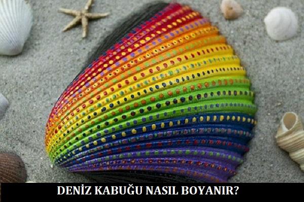 Deniz Kabuğu Nasıl Boyanır