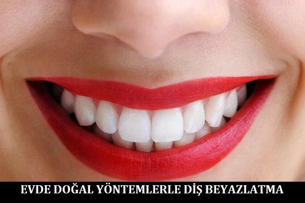 Evde Doğal Yöntemlerle Diş Beyazlatma