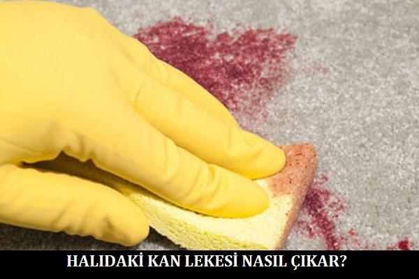 Halıdaki Kan Lekesi Nasıl Çıkar
