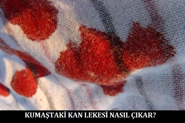 Kumaştaki Kan Lekesi Nasıl Çıkar
