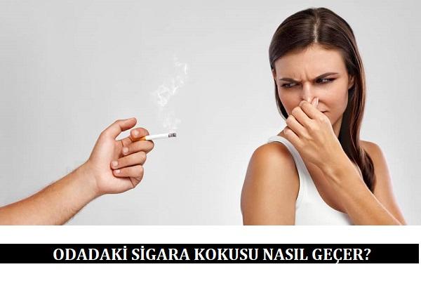 Odadaki Sigara Kokusu Nasıl Geçer