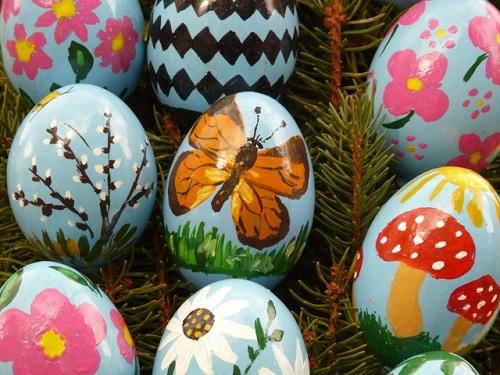 Yumurta Kabuğu Süslemesi-1
