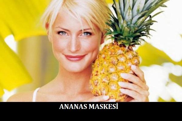 Ananas Maskesi