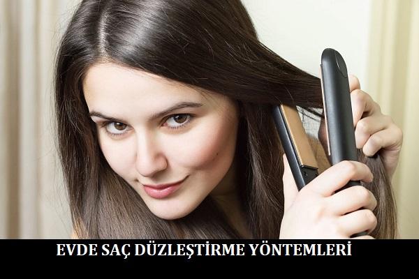 Evde Saç Düzleştirme Yöntemleri