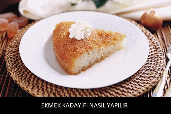 Ekmek Kadayıfı Nasıl Yapılır