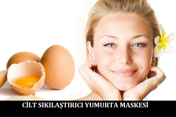 Cilt Sıkılaştırıcı Yumurta Maskesi