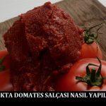 Ocakta Domates Salçası Nasıl Yapılır