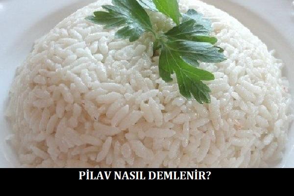 Pilav Nasıl Demlenir