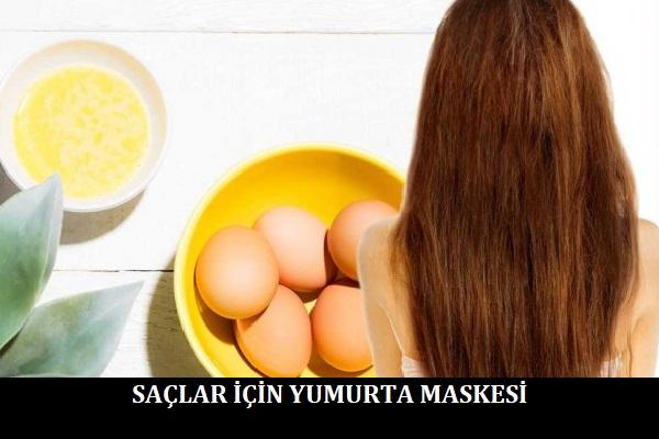 Saçlar için Yumurta Maskesi