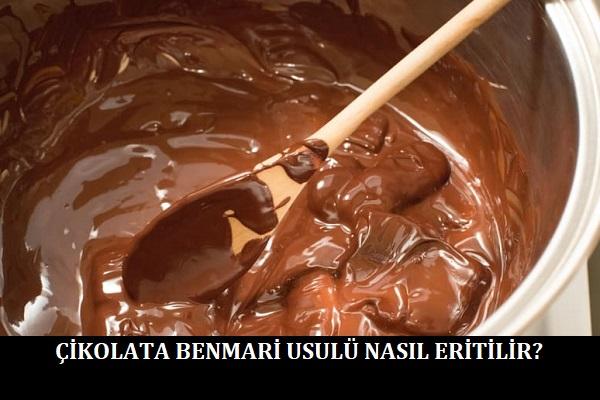 Çikolata Benmari Usulü Nasıl Eritilir