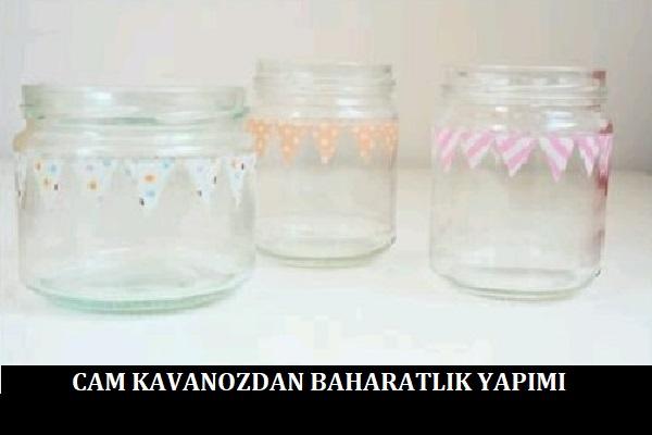 Cam Kavanozdan Baharatlık Yapımı-1