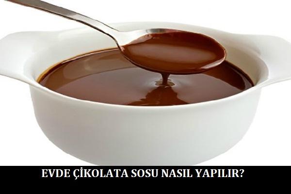 Evde Çikolata Sosu Nasıl Yapılır
