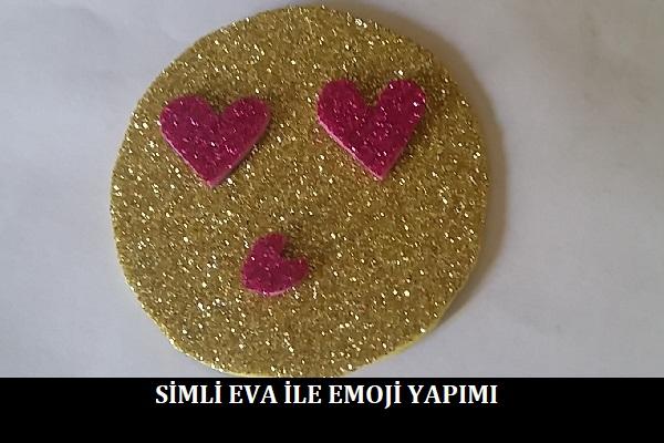 Simli Eva ile Emoji Yapımı