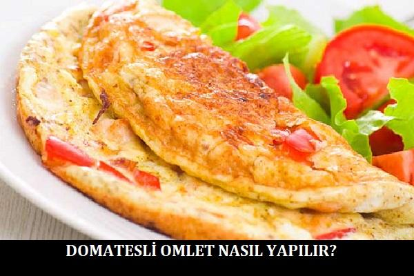 Domatesli Omlet Nasıl Yapılır