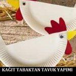 Kağıt Tabaktan Tavuk Yapımı