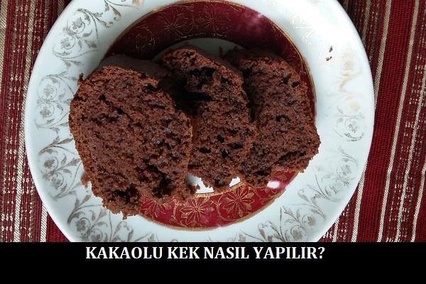 Kakaolu Kek Nasıl Yapılır