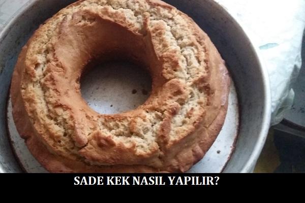 Sade Kek Nasıl Yapılır