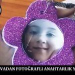 Simli Evadan Fotoğraflı Anahtarlık Yapımı