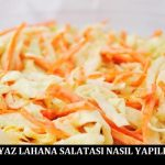 Beyaz Lahana Salatası Nasıl Yapılır
