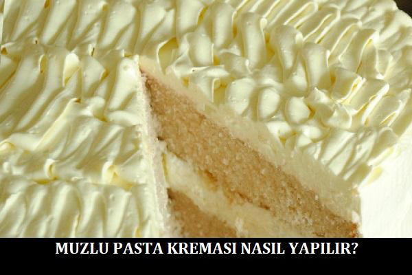 Muzlu Pasta Kreması Nasıl Yapılır