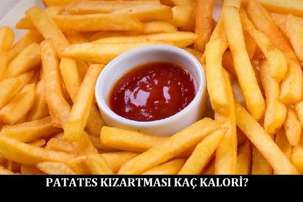 Patates Kızartması Kaç Kalori