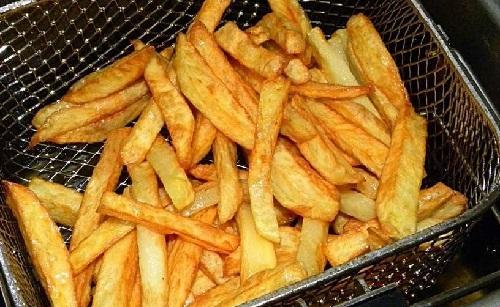 Yağda Patates Kızartması