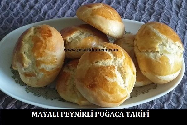 Mayalı Peynirli Poğaça Tarifi