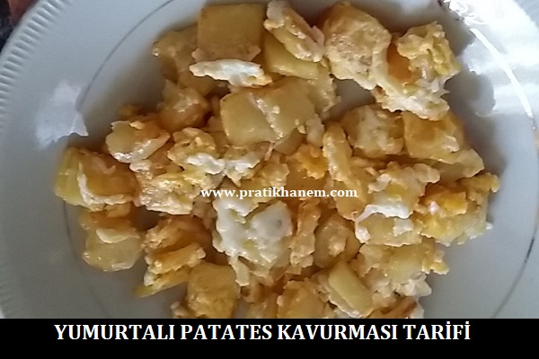 Yumurtalı Patates Kavurması Tarifi