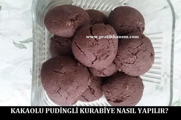 Kakaolu Pudingli Kurabiye Nasıl Yapılır