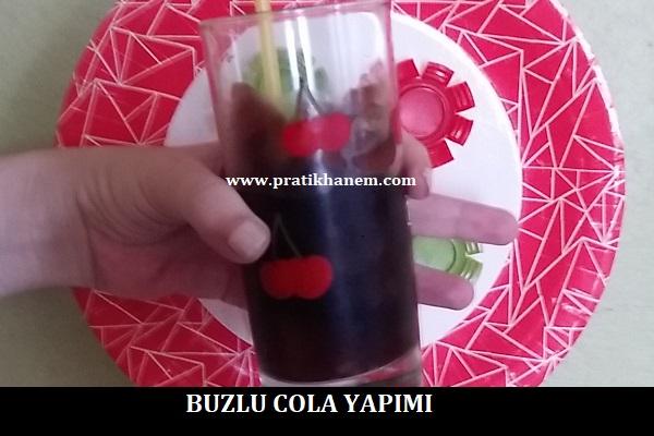 Buzlu Cola Yapımı
