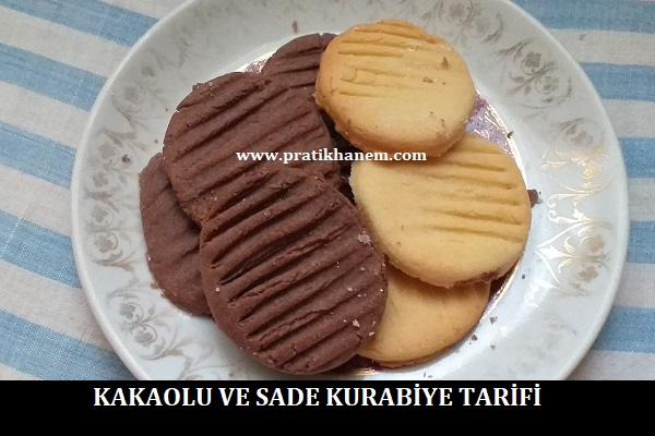 Kakaolu ve Sade Kurabiye Tarifi