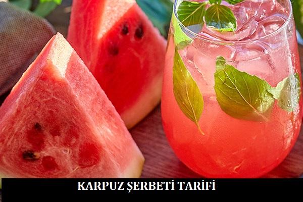 Karpuz Şerbeti Tarifi