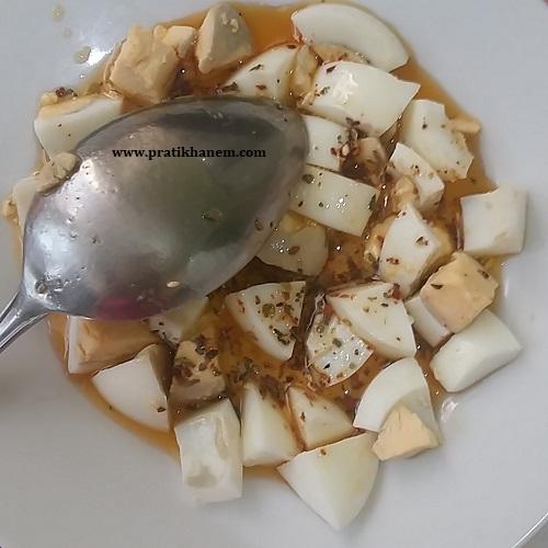 Kahvaltılık Zeytinyağlı Baharatlı Yumurta-1
