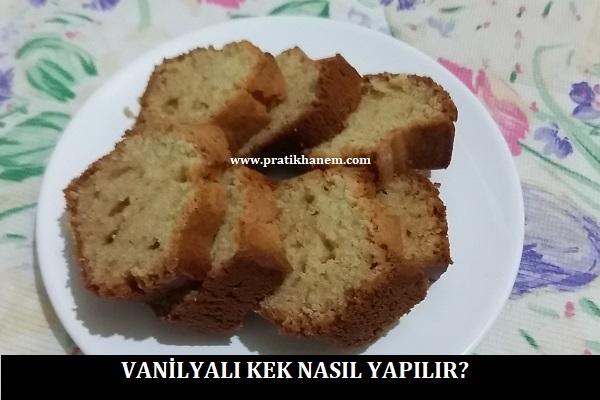 Vanilyalı Kek Tarifi