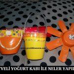 Meyveli Yoğurt Kabı ile Neler Yapılır