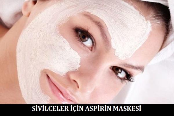 Sivilceler için Aspirin Maskesi