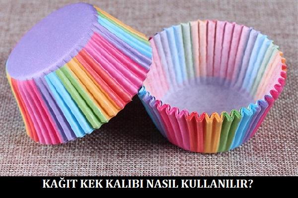 Kağıt Kek Kalıbı Nasıl Kullanılır