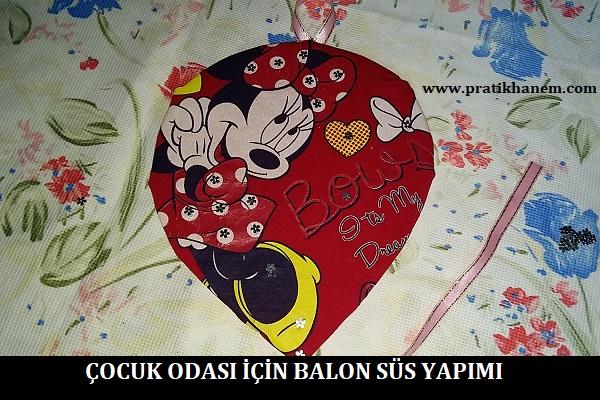 Çocuk Odası için Balon Süs Yapımı