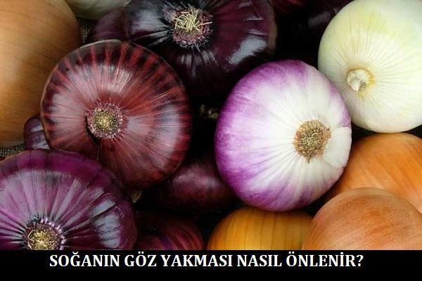 Soğanın Göz Yakması Nasıl Önlenir