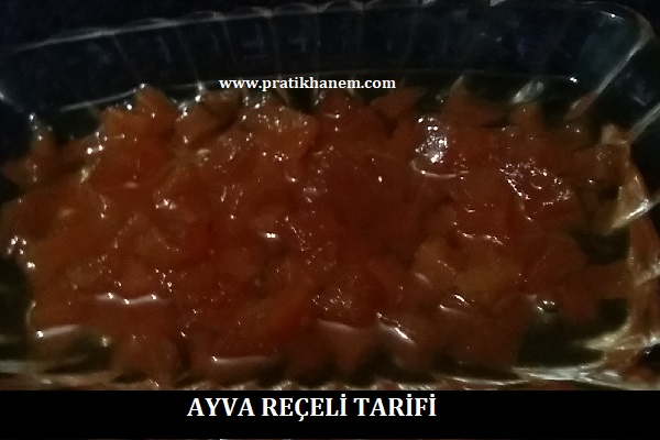Ayva Reçeli Tarifi