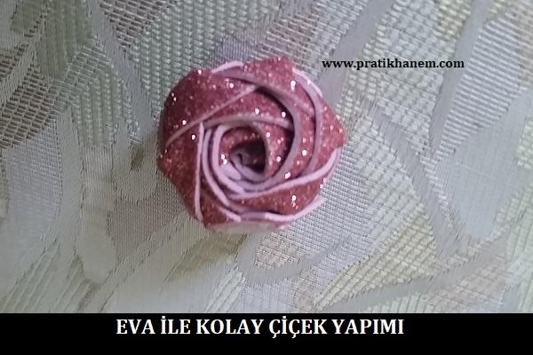 Eva ile Kolay Çiçek Yapımı
