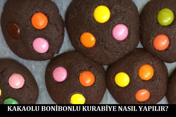 Kakaolu Bonibonlu Kurabiye Nasıl Yapılır