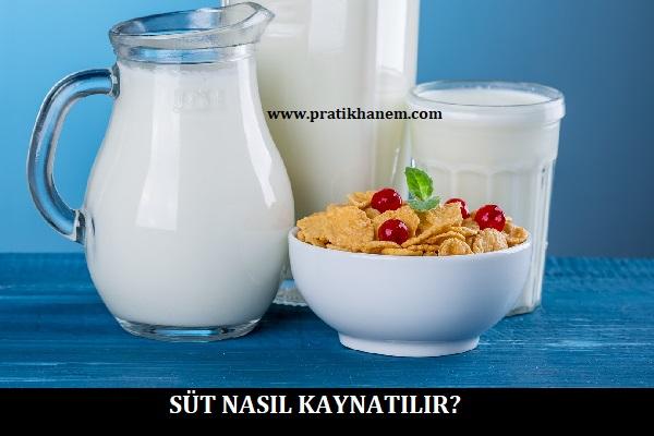 Süt Nasıl Kaynatılır?
