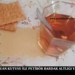 Şampuan Kutusu ile Petibör Bardak Altlığı Yapımı