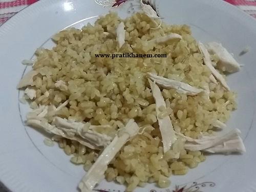 Tavuklu Bulgur Pilavı
